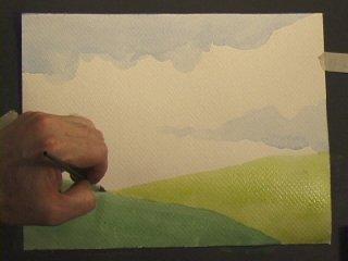 طريقة الرسم بالالوان المائية 017cl.jpg